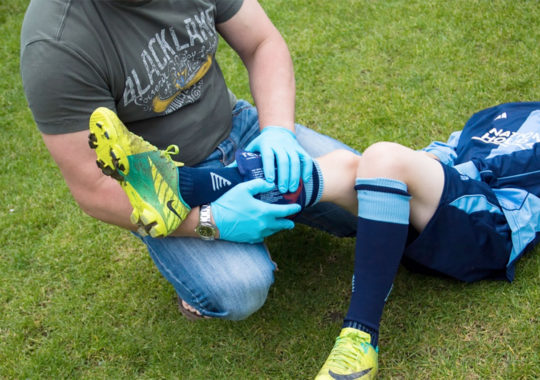 Sports First Aid For Forearm And Wrist Injuries