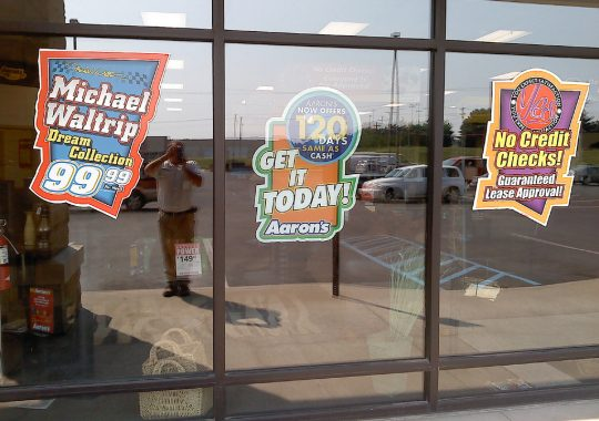 Ever Consider Window Stickers As A Way Of Advertising?