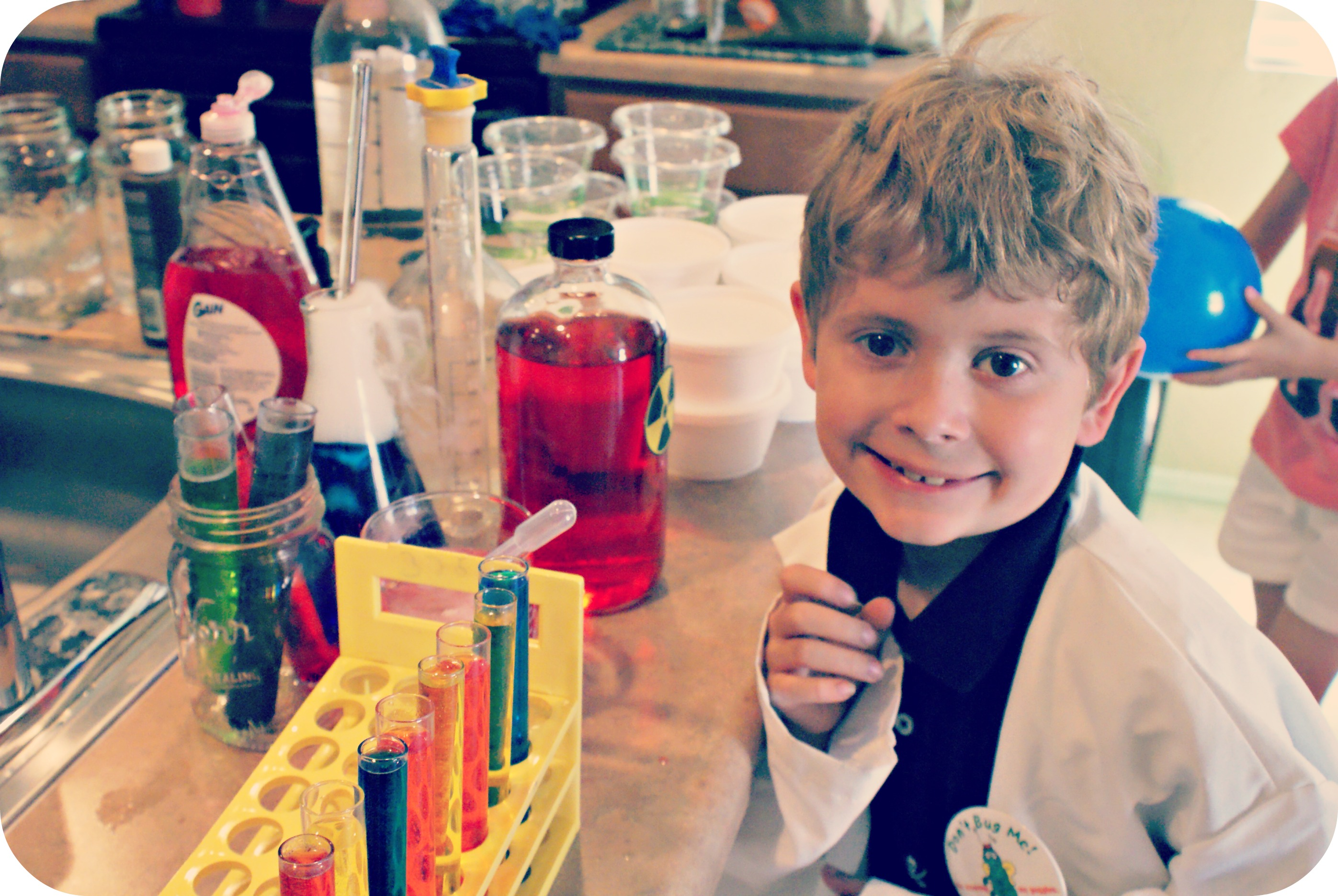 Mad Science Birthday Party Ideas
